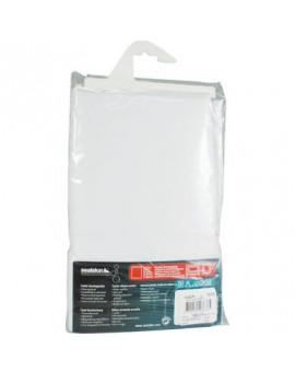 Rideau textile blanc Sealskin - BricoBati