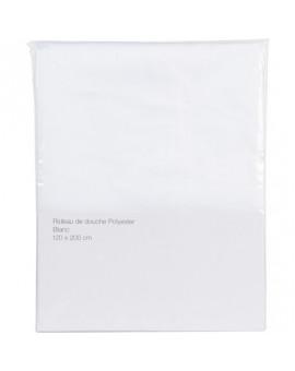 Rideau de douche textile - BricoBati