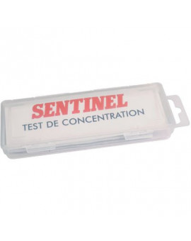 Test de concentration X100 - Sentinel