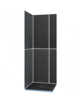 Shower Kit 900 x 900 - Wedi