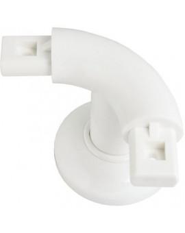 Support coudé à 90° pour système polyalu - Pellet