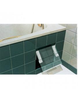 Fixation universelle de trappe de visite pour baignoire - Nicoll