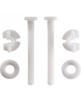 Visserie plastique pour abattant - Siamp