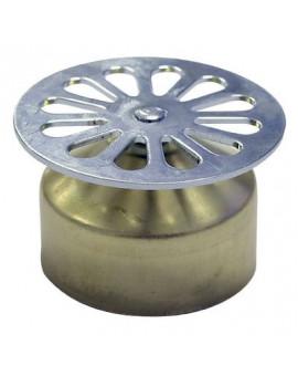 Grille Ø 55 mm à cloche laiton - grandsire