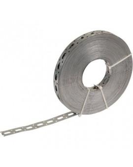 Bande de suspension perforée en acier galvanisé - Séléction BricoBati