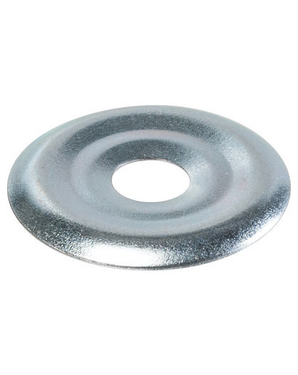 Rosace plate zinguée - Fischer - 100