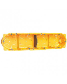 Boîte d'encastrement Batibox 4 postes - Legrand