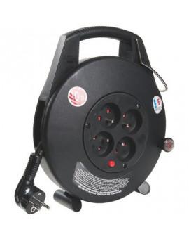 Enrouleur 4 prises 3G1 mm² - Brennenstuhl