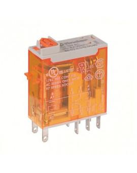 Relais miniatures industriels cosses Faston 2RT 8A - Série 46 - Finder