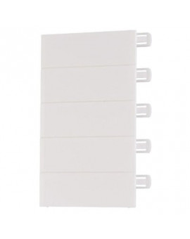 Obturateur blanc pour coffret Ekinoxe TX 18 modules - Legrand