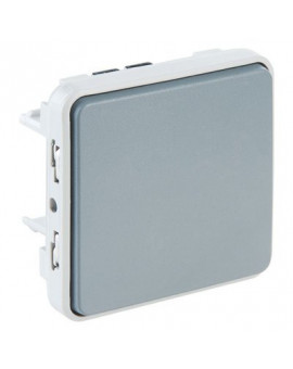 Poussoir NO Plexo composable IP55 - Legrand