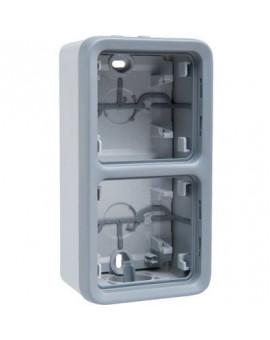 Boîtier 2 postes verticaux Plexo composable IP55 - Legrand
