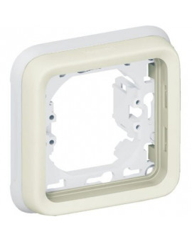Support plaque 1 poste Plexo composable IP55 - Legrand