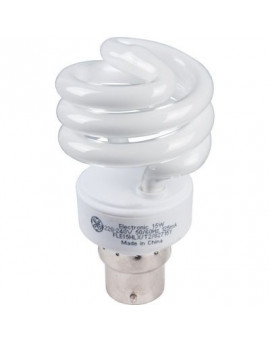 Lampe Spirale T2 B22 - General Electric