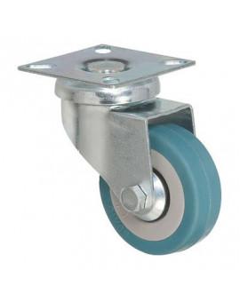 Roulette pivotante à platine série S14 - Caujolle