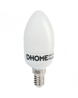 Lampe DHOME flamme fluo compact E14 - Dhome