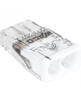 Borne de connexion Wago Série 2273 fil rigide - Wago