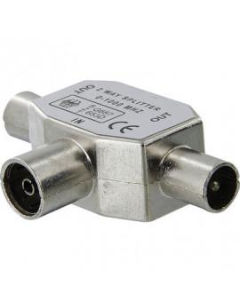 Répartiteur TV blindé Ø 9,52 mm Dhome - Dhome