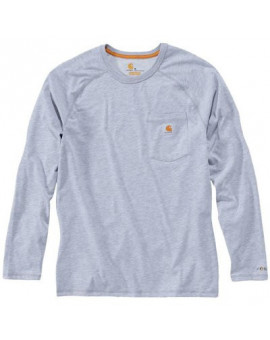 T-Shirt Force manches longues Gris - Carhartt