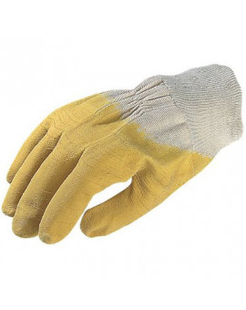 Gants latex jaune - Euro-Technique