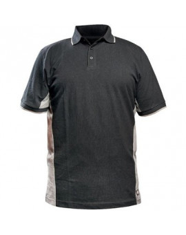 Polo Two Tone Gris/Noir - Dickies