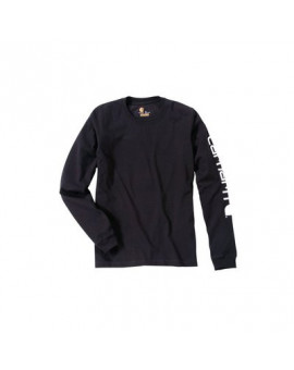 T-shirt manches longues Logo EK231 Noir - Carhartt