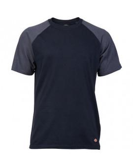 Tee-shirt Baseball 2 TONE Bleu/Gris - Dickies