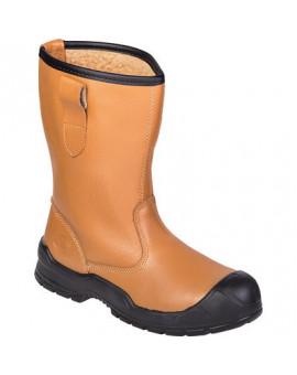 Bottes cuir doublées haute sécurité Rigger - Dickies