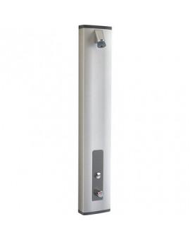 Panneau de douche thermostatique avec robinet temporisé - Presto