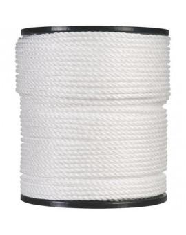 Bobine de corde polypropylène blanc - Corderies Tournonaises