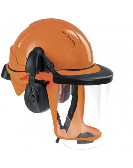 Cagoule adaptable systèmes ventilés CA-4 (avec visière et casque anti-bruit) - Wuithom