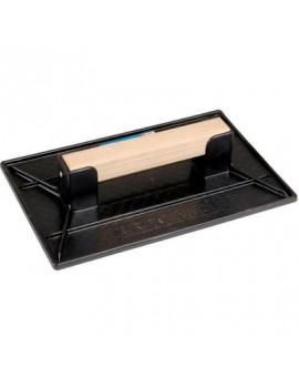Taloche rectangulaire polystyréne choc noir - Vinmer