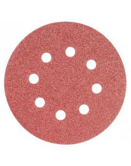 Disque papier auto-agrippant perforé Ø125 - Scid - 10