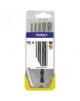 Coffret plastique de forêts béton carbure - Tivoly