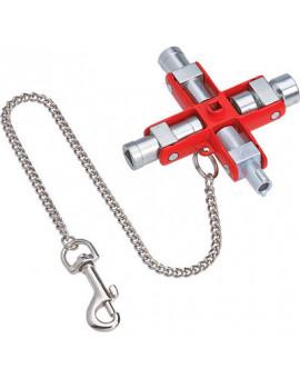 Clé universelle en croix - Knipex