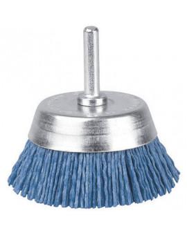 Brosse conique nylon bleu - Scid