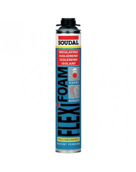 Mousse PU pistolable, flexifoam - Soudal