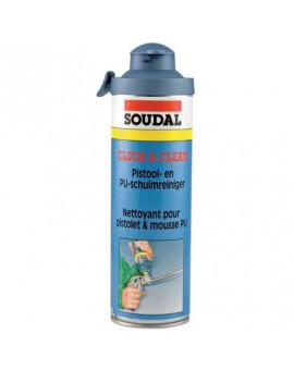 Nettoyant pistolet pour mousse polyuréthane Click & Clean - Soudal
