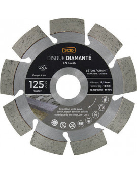 Disque béton granit professionnel - Scid