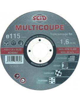 Disque multicoupe - Scid