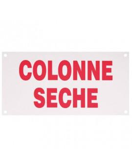 Plaque de signalisation colonne sèche - R.Pons