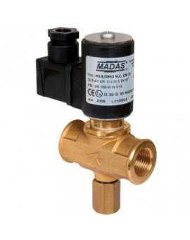 Electrovanne gaz à réarmement manuel 500 mbar - Sectoriel