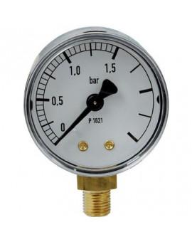 Manomètre gaz radial 0 à 1,5 bar - Clesse