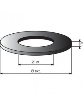 Rondelle standard épaisseur 5 mm - Nord Picardie Joints