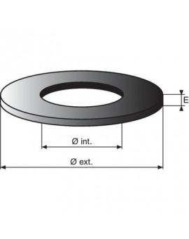 Rondelle standard épaisseur 2mm - Nord Picardie Joints