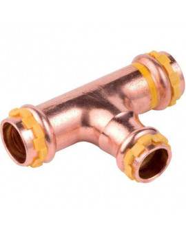 Té cuivre réduit gaz - Comap