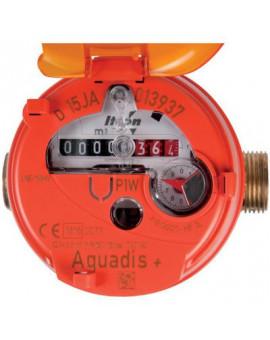 Compteur divisionnaire volumétrique Aquadis+, eau chaude - Itron