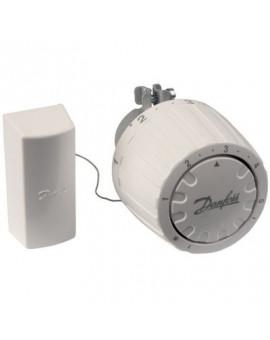 Tête thermostatique de remplacement (bulbe à distance) - Danfoss