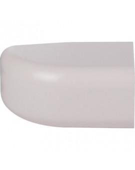 Embout plastique rigide beige - Séléction BricoBati