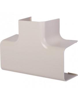 Té de dérivation plastique rigide beige - Séléction BricoBati